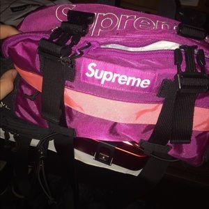 Supreme Magenta Waist/Shoulder Bag